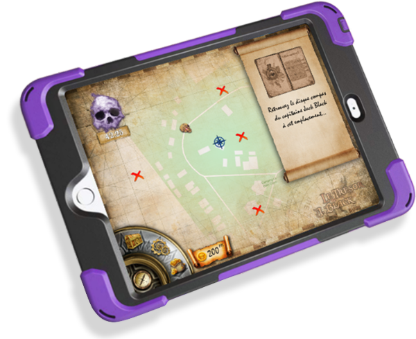 Chamonix Outdoor Escape Game Tablet